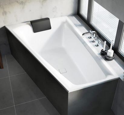 Асимметричная ванна Riho Still Smart R 170x110 без гидромассажа BR0300500000000