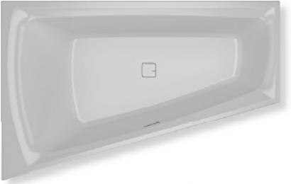 Асимметричная ванна Riho Still Smart R 170x110 без гидромассажа BR0300500000000 2