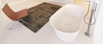 Овальная ванна из искусственного камня Riho Barca 170x79 белая BS6000500000000 2