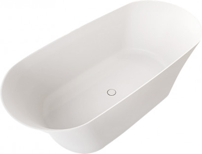 Овальная ванна из искусственного камня Riho Barca 170x79 белая BS6000500000000 10