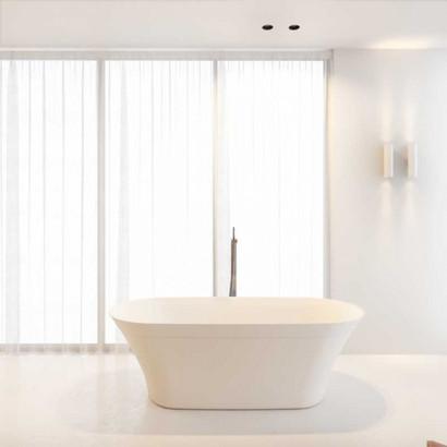 Овальная ванна из искусственного камня Riho Barca 170x79 белая BS6000500000000 3