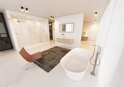 Овальная ванна из искусственного камня Riho Barca 170x79 белая BS6000500000000 4