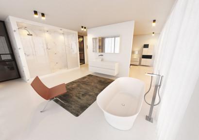 Овальная ванна из искусственного камня Riho Barca 170x79 белая BS6000500000000 5