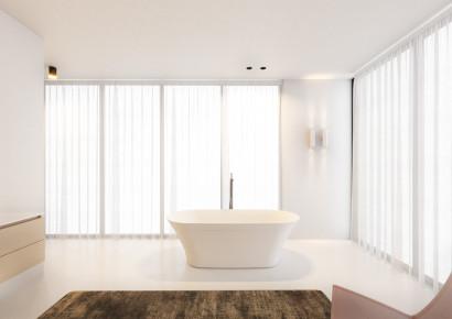 Овальная ванна из искусственного камня Riho Barca 170x79 белая BS6000500000000 9