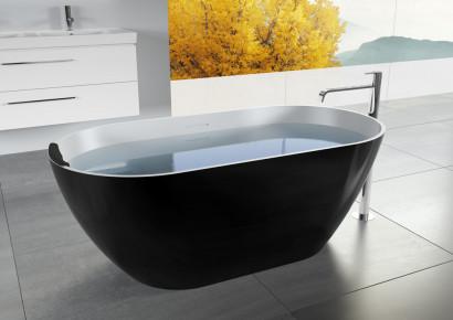 Овальная ванна из искусственного камня Riho Bilbao 150x75 белая BS1200500000000 13