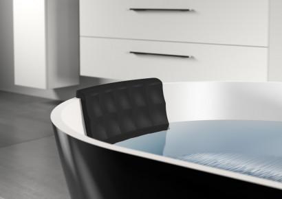 Овальная ванна из искусственного камня Riho Bilbao 150x75 белая BS1200500000000 14