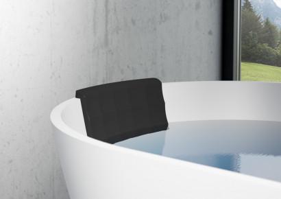 Овальная ванна из искусственного камня Riho Bilbao 150x75 белая BS1200500000000 17