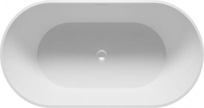 Овальная ванна из искусственного камня Riho Bilbao 150x75 белая BS1200500000000 20
