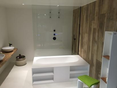 Прямоугольная ванна из искусственного камня Riho Burgos 180х102 белая BS4200500000000 5