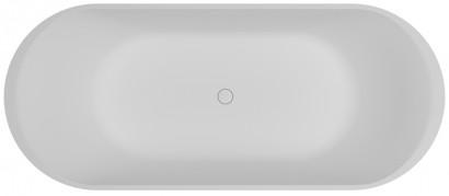 Овальная ванна из искусственного камня Riho Essence 170х72 белая BS7000500000000 2