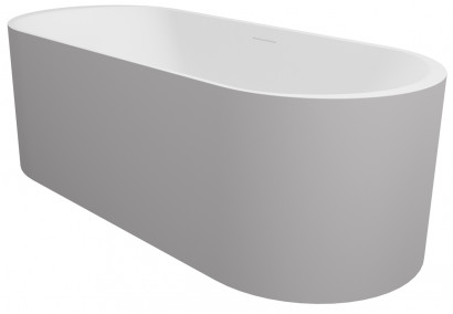 Овальная ванна из искусственного камня Riho Essence 170х72 белая BS7000500000000 3