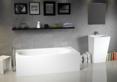 Прямоугольная ванна из искусственного камня Riho Madrid 180x86 белая BS4000500000000 11