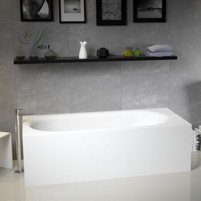 Прямоугольная ванна из искусственного камня Riho Madrid 180x86 белая BS4000500000000 3