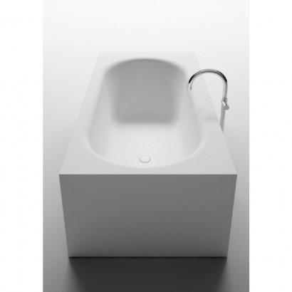 Прямоугольная ванна из искусственного камня Riho Madrid 180x86 белая BS4000500000000 4