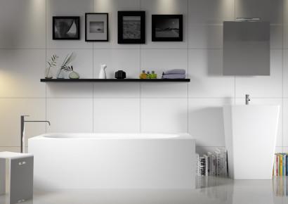 Прямоугольная ванна из искусственного камня Riho Madrid 180x86 белая BS4000500000000 6