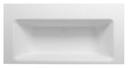 Прямоугольная ванна из искусственного камня Riho Zamora 220x100 белая BS4700500000000 2