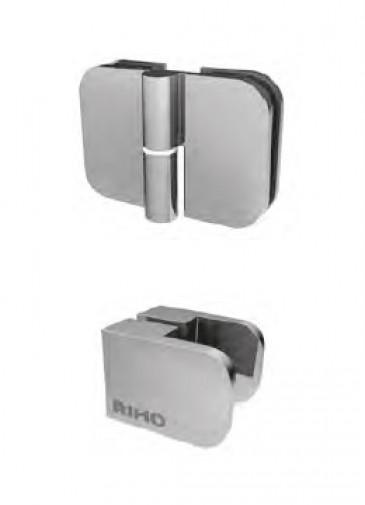 Душевое ограждение в четверть круга Riho Scandic Soft Q309 90x90 GQ0440300 2