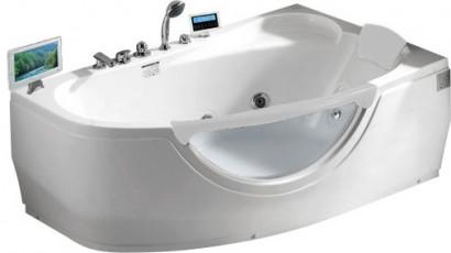 Гидромассажная акриловая ванна Gemy G9046 II O R, 171 х 99 см
