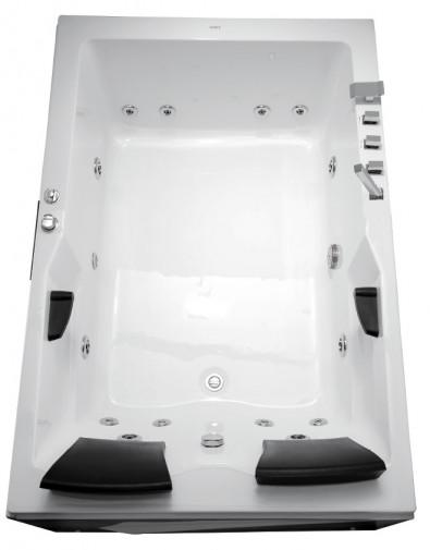 Гидромассажная  акриловая ванна Gemy G9061 B L 181 х 121 x 70 см с , белая 2