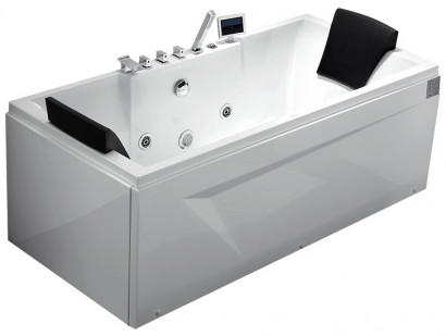 Гидромассажная акриловая ванна Gemy G9065 K R, 175 х 85 см