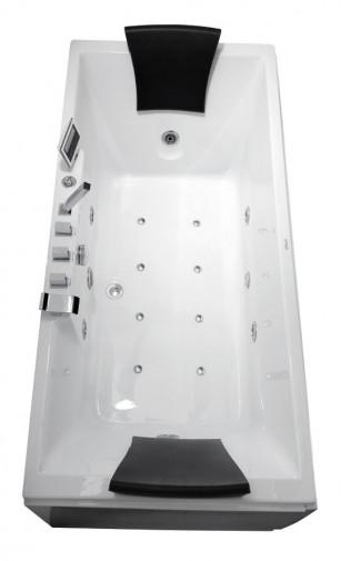 Гидромассажная акриловая ванна Gemy G9065 K R, 175 х 85 см 2