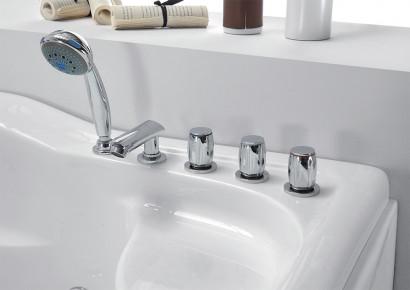 Гидромассажная акриловая ванна Gemy G9083 K L, 180 х 121 см 4