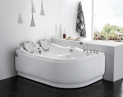 Гидромассажная акриловая ванна Gemy G9083 K L, 180 х 121 см 2