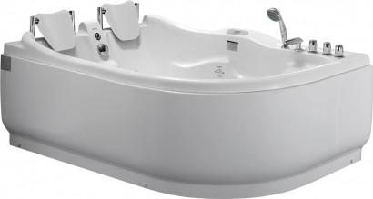 Гидромассажная акриловая ванна Gemy G9083 K L, 180 х 121 см