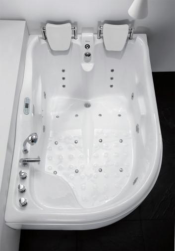Гидромассажная акриловая ванна Gemy G9083 K R, 180 х 121 см 3