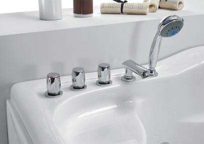 Гидромассажная акриловая ванна Gemy G9083 K R, 180 х 121 см 4