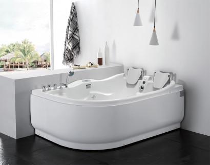 Гидромассажная акриловая ванна Gemy G9083 K R, 180 х 121 см 2