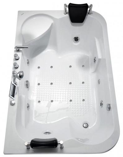 Гидромассажная акриловая ванна Gemy G9085 K L, 180 х 116 х 69 см 2