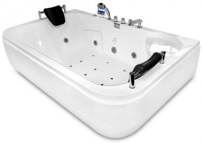 Гидромассажная акриловая ванна Gemy G9085 K L, 180 х 116 х 69 см