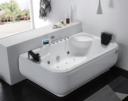 Гидромассажная акриловая ванна Gemy G9085 K R, 180 х 116 х 69 см 2