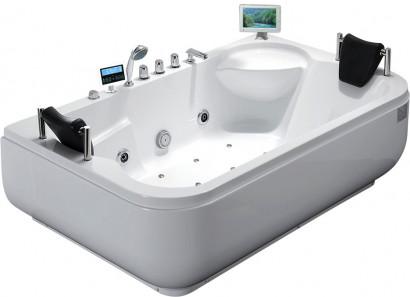 Гидромассажная акриловая ванна Gemy G9085 O R, 180 х 116 см