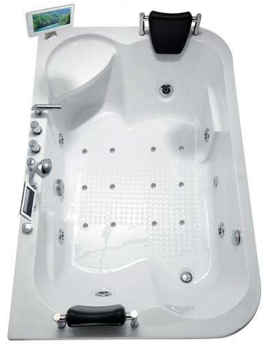 Гидромассажная акриловая ванна Gemy G9085 O R, 180 х 116 см 2