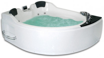 Гидромассажная акриловая ванна Gemy G9086 K L, 170 х 133 см