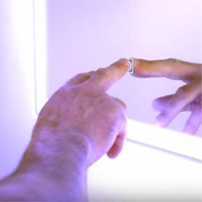 "Зеркало ""Mercury LED""  915х685 c подсветкой 2"