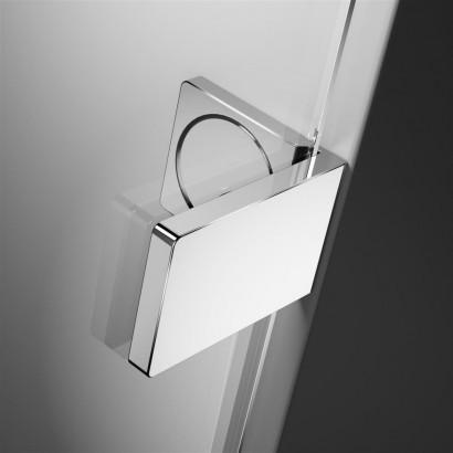 Дверь для душевого уголка Radaway Arta C DWD+S 55 левая, с петлей на углу , профиль хром , стекло прозрачное 7