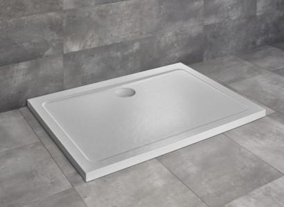 Душевой поддон Doros D 100x90 Stone White