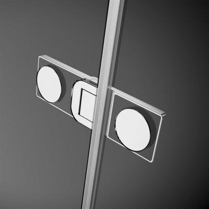 Дверь душевого уголка Radaway Arta KDJ II 80 левая , фурнитура хром ,  стекло прозрачное 3