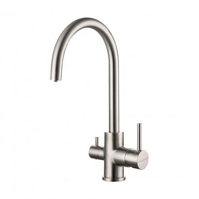 Смеситель для кухни ESSEN, никель, 213211-NI, Paulmark