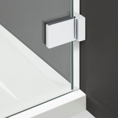 Дверь душевого уголка Radaway Arta KDJ II 90 правая , фурнитура хром ,  стекло прозрачное 4
