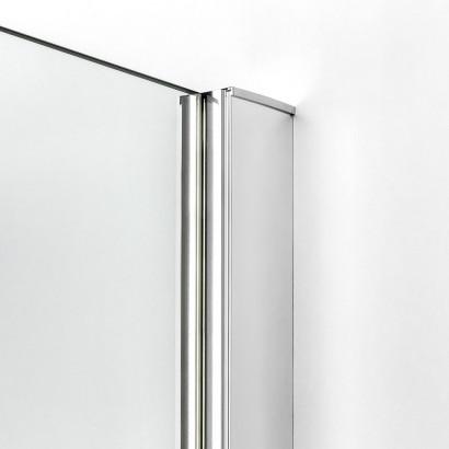 Душевое ограждение NEW TRENDY REFLEXA L 120x70x200 EXK-1435 (хром) 4