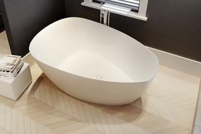 Овальная ванна из искусственного камня Riho Toledo 158x110 BS5500500000000 2