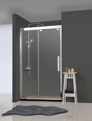 Душевая дверь BRAVAT Stream в нишу одна раздвижная дверь 1200x2000 2