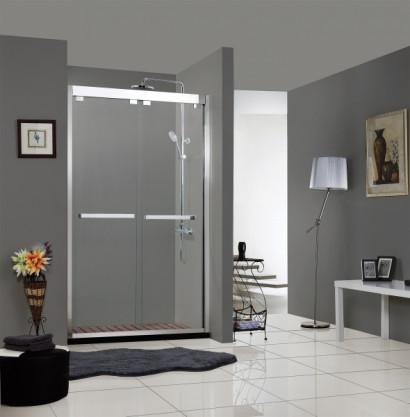 Душевая дверь BRAVAT Stream в нишу две раздвижные двери 1200x2000 2