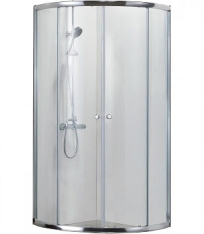 Душевой уголок BRAVAT Drop без поддона две раздвижные двери 900x900x2000