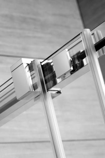 Дверь для душевого уголка Radaway Espera KDJ 110x200 левая , профиль хром, стекло прозрачное 6