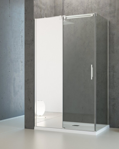 Боковая стенка для душевого уголка Radaway Espera KDJ 70x200 правая ,  профиль хром, стекло прозрачное